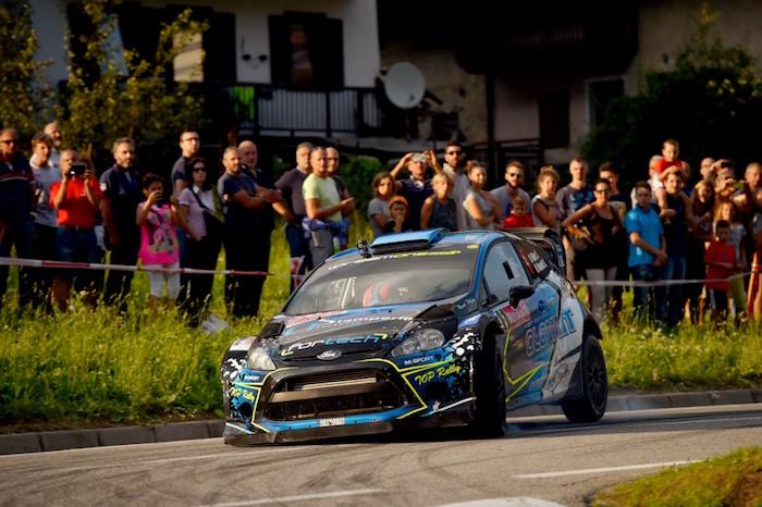 Rally, San Martino: Miele centra il primo podio di Campionato Italiano Wrc con il luinese Mometti(Foto © Massimo Bettiol)