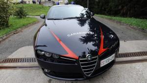 Un'auto dei Carabinieri  di Luino