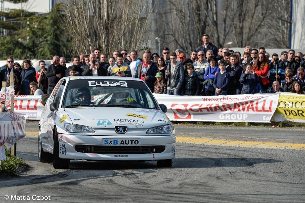 Ventisette anni dopo papà Mauro, Simone Mieli, insieme a Roberto Mometti, firma il Rally dei Laghi 2016 (Foto Mattia Ozbot)