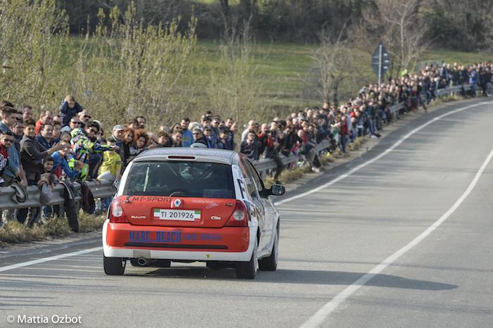 Spettacolo di casa al Rally dei Laghi, che celebrerà il compianto driver luinese Mauro Saredi (Foto Mattia Ozbot - mattiaozbot.com)