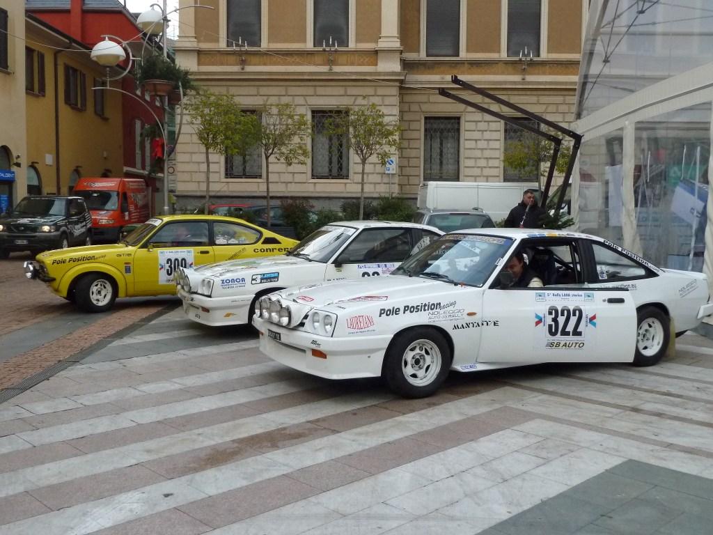 Entra nel vivo la 2° Rievocazione storica del Rally Aci Varese: 47 i concorrenti ed un pubblico numeroso