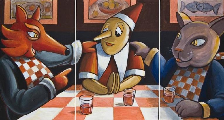 """""""Pinocchio"""" di Ettore Antonini al Chiostro di Voltorre: la prima mostra-evento dell'anno"""