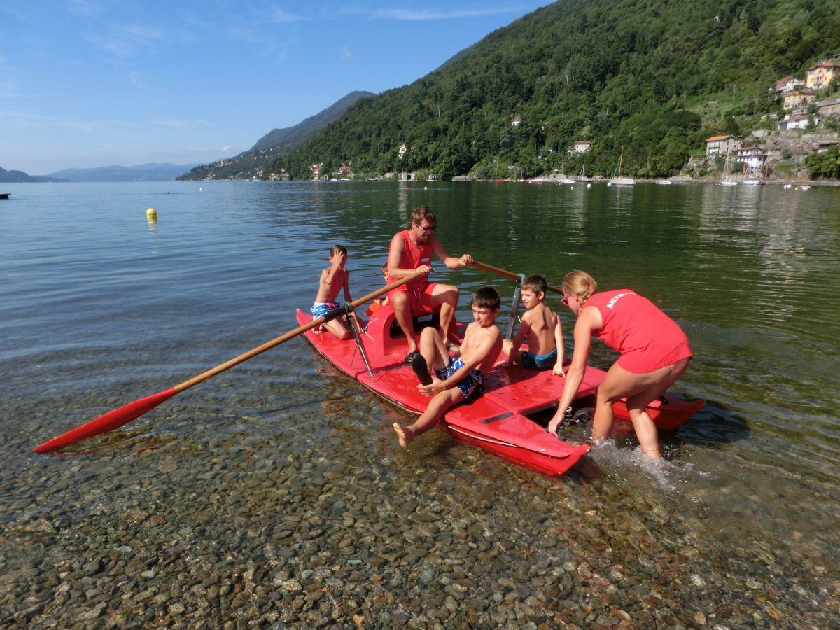 Successo per il Rowing Summer Camp 2016 della Canottieri Luino