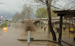 L'alluvione di Cardé, in provincia di Cuneo nel 2009