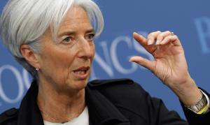 Il direttore del FMI, Christine Lagarde( heraldo.es)