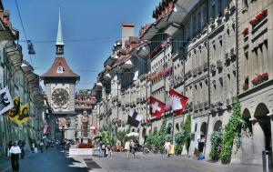 Il centro di Berna, capitale della Svizzera (paradiseintheworld.com)