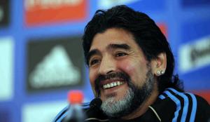 Il 53enne campione argentino, Diego Armando Maradona (febbrea90.blogspot.com)