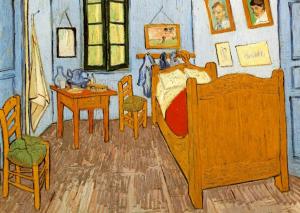 """""""La camera di Vincent ad Arles"""" - Vincent Van Gogh (triviumproject.com)"""
