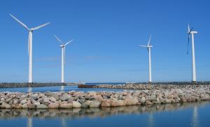 Parco eolico off-shore in Danimarca