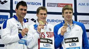 Marco Orsi, argento nei 50sl degli Europei in vasca corta 2013 (sport.sky.it)