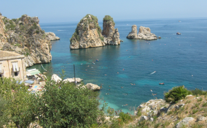 La tonnara di Scopello, in provincia di Trapani (turistipercaso.it)