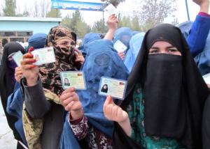 Elezioni in Afghanistan, sabato 5 aprile 2014 (foto: EPA)