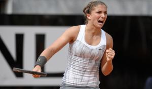 La tennista italiana, Sara Errani (italpress.com)
