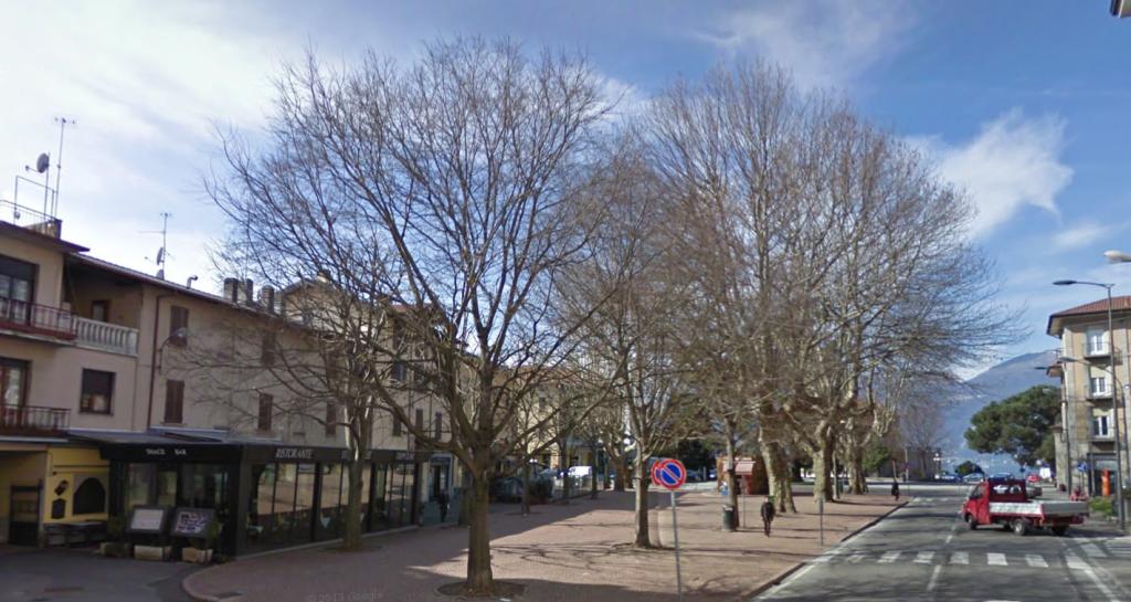 Luino, piazza Garibaldi (google.com)