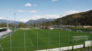 Il campo sportivo di Luino, presso il Parco Margorabbia (weltfussballarchiv.com)