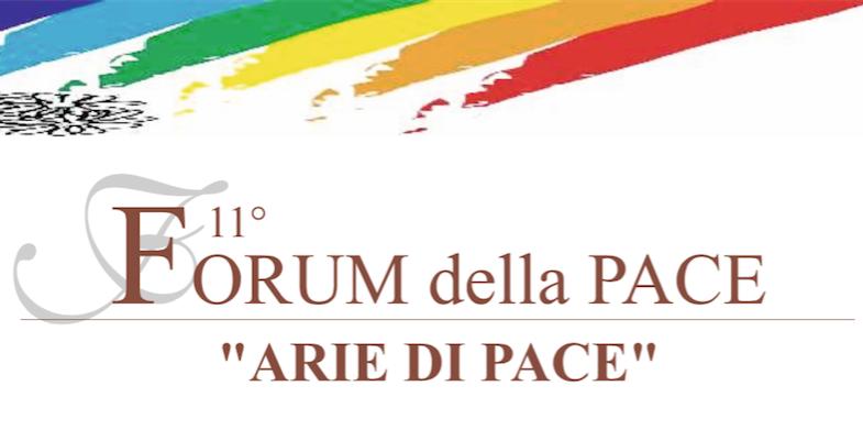 """Sabato 31 a Maccagno l'11esimo """"Forum della Pace"""", ecco il programma della giornata"""