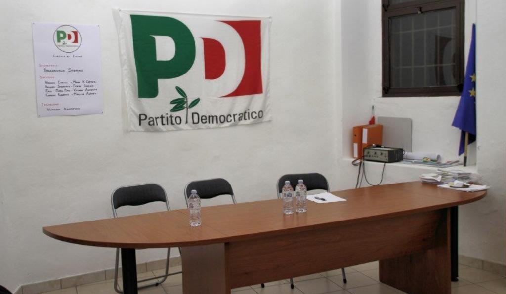 La sede del Circolo PD di Luino (Foto © Amedeo Piazza)