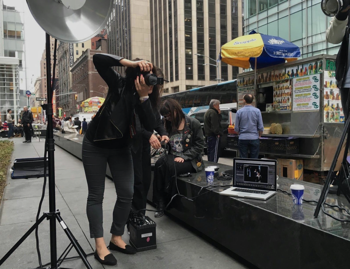 """""""Luinesi all'estero"""": la fotografa Fabiana Sala nella """"Grande Mela"""" tra arte, lavoro e insegnamento"""