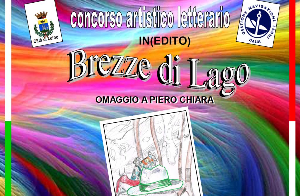 """Luino: """"Brezze di Lago"""", concorso artistico letterario in occasione del trentennale dalla scomparsa di Piero Chiara"""