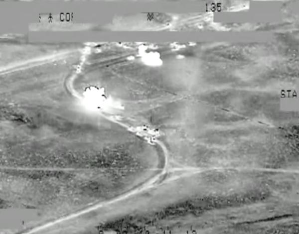 Blitz degli Usa in Iraq: uccisi 150 jihadisti e distrutti 260 veicoli