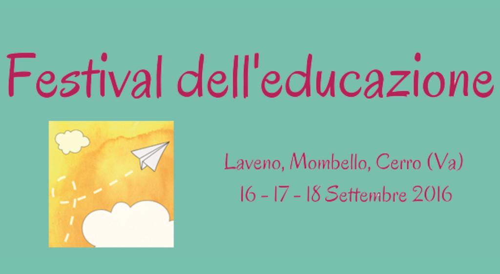 """A Laveno Mombello sbarca la prima edizione del """"Festival dell'Educazione"""""""