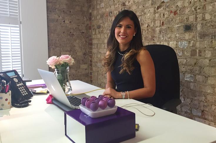 Serena Fortuna in ufficio