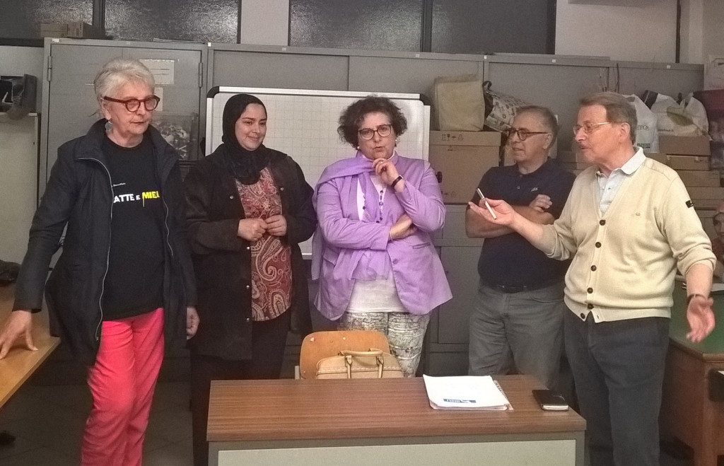 Luino: ad una quarantina di migranti gli attestati di frequenza al corso di italiano organizzato da AISU
