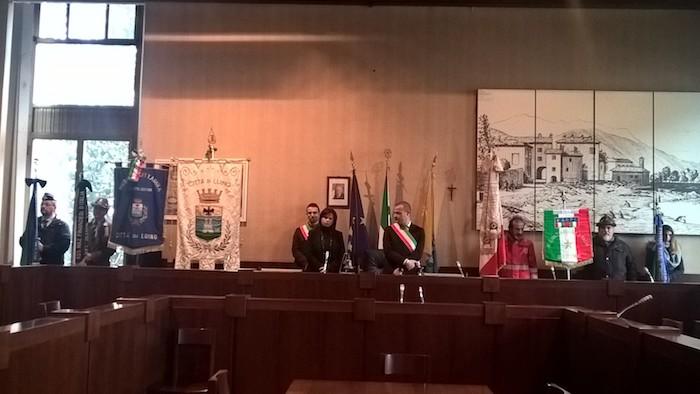 """Anche Luino celebra l'Unità Nazionale e le Forze Armate, Casali: """"Uniti per il territorio"""""""