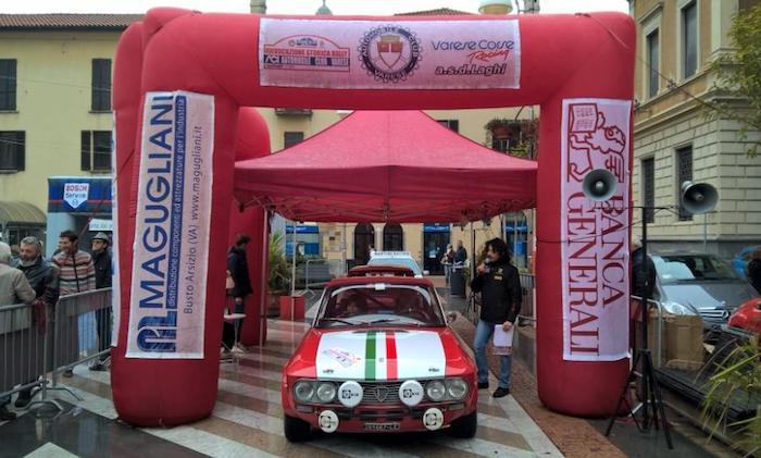 La Rievocazione storica Rally Aci Varese è ancora di Leva e Giugni