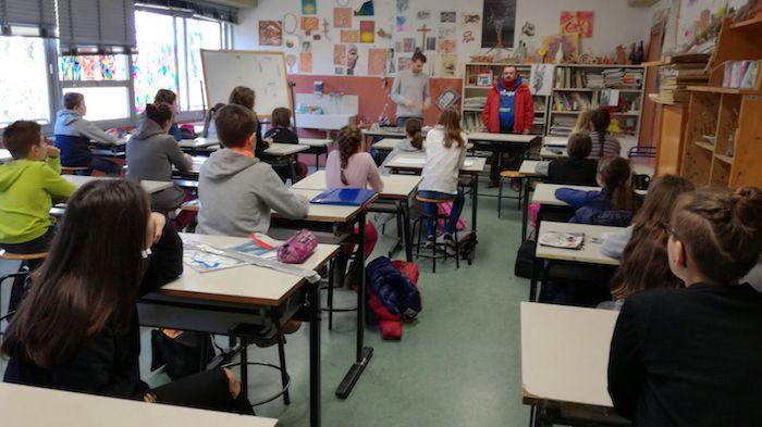 """Germignaga, ieri gran successo per la """"Giornata del fumetto"""" a scuola"""