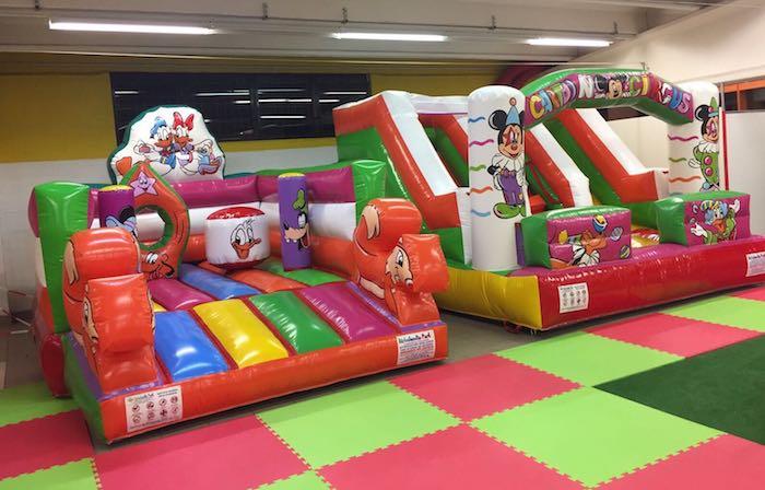 """Un nuovo spazio per bambini nell'oasi felice """"Happy Park"""" di Luino. La sfida di Tony e Danilo"""