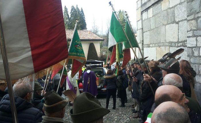 A Brezzo di Bedero oggi pomeriggio l'ultimo saluto a Remo Passera