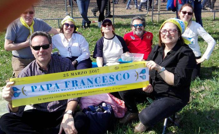 Il Decanato di Luino a Milano per Papa Francesco. La riflessioni di Clea, Elena, Laura e Norma