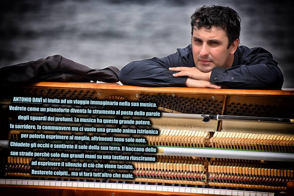 Ferragosto a Luino, il concerto pianistico di Antonio Davi al Parco a Lago