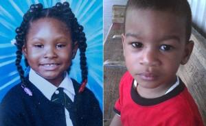 A destra il bambino di 6 anni morto, Joshua Avitto, mentre sulla sinistra l'amichetta ferita (nydailynews.com)