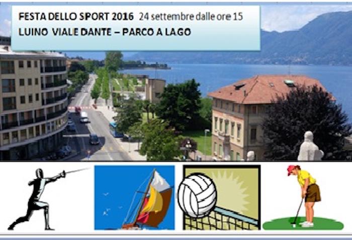 """Luino, sabato 24 la """"Festa dello Sport"""" tra viale Dante e il Parco a Lago. Ecco le modifiche alla viabilità"""