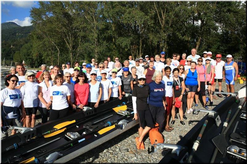 Il World Rowing Tour approda ad Arolo dopo una sosta a Caldè