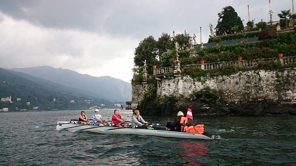 La quinta tappa del World Rowing Tour porta i vogatori alle Isole Borromee e Pallanza