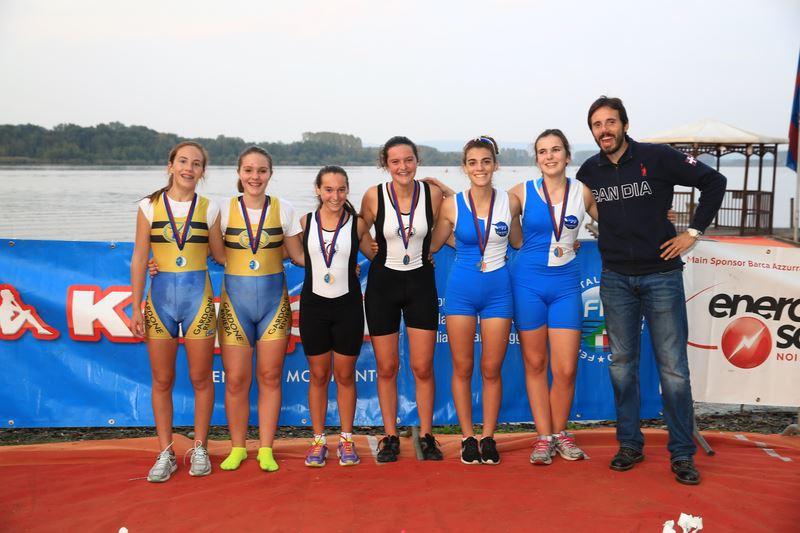 Canottieri Germignaga, cinque medaglie dal Meeting Nazionale. Tre gli ori (Foto © C. Cecchin – fotoline.org)
