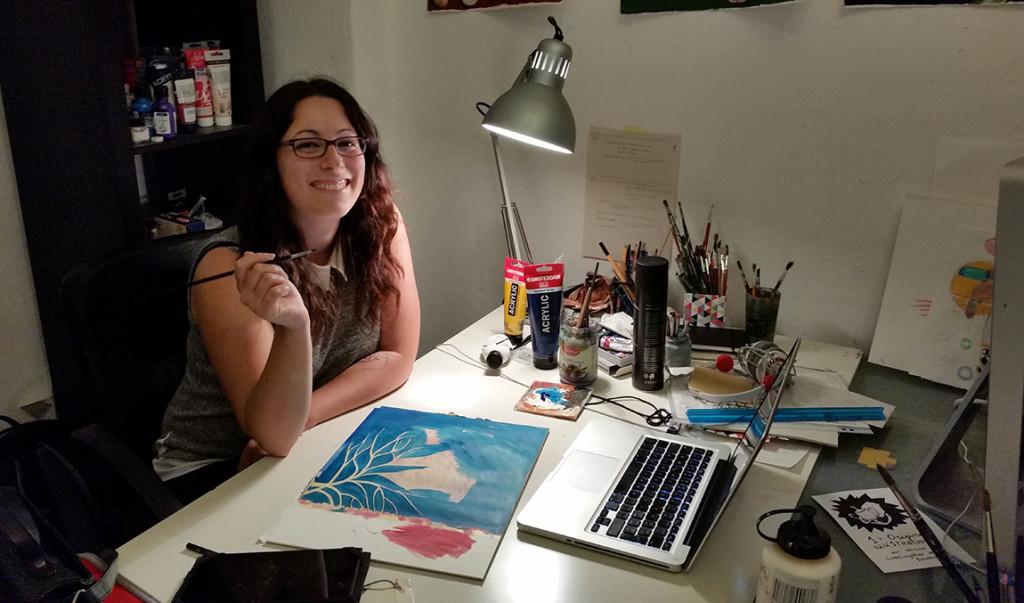 """""""Luinesi all'estero"""", a Berlino Francesca Sai è illustratrice e lavora a diversi progetti editoriali - """"Come lo studio vede me"""""""