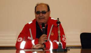 Il presidente della CRI della Lombardia, Maurizio Gussoni (gowem.it)
