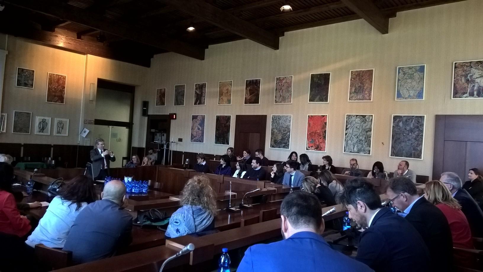 """Luino: stamane in Comune il convegno """"Giustizia, comunicazione e deontologia"""""""