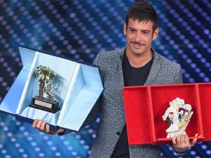 """Francesco Gabbani vincitore ieri sera delle """"Nuove Proposte"""" Sanremo 2016 (elle.it)"""
