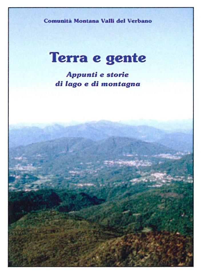 """Cuveglio, venerdì la presentazione di """"Terra e gente, appunti di lago e montagna"""""""