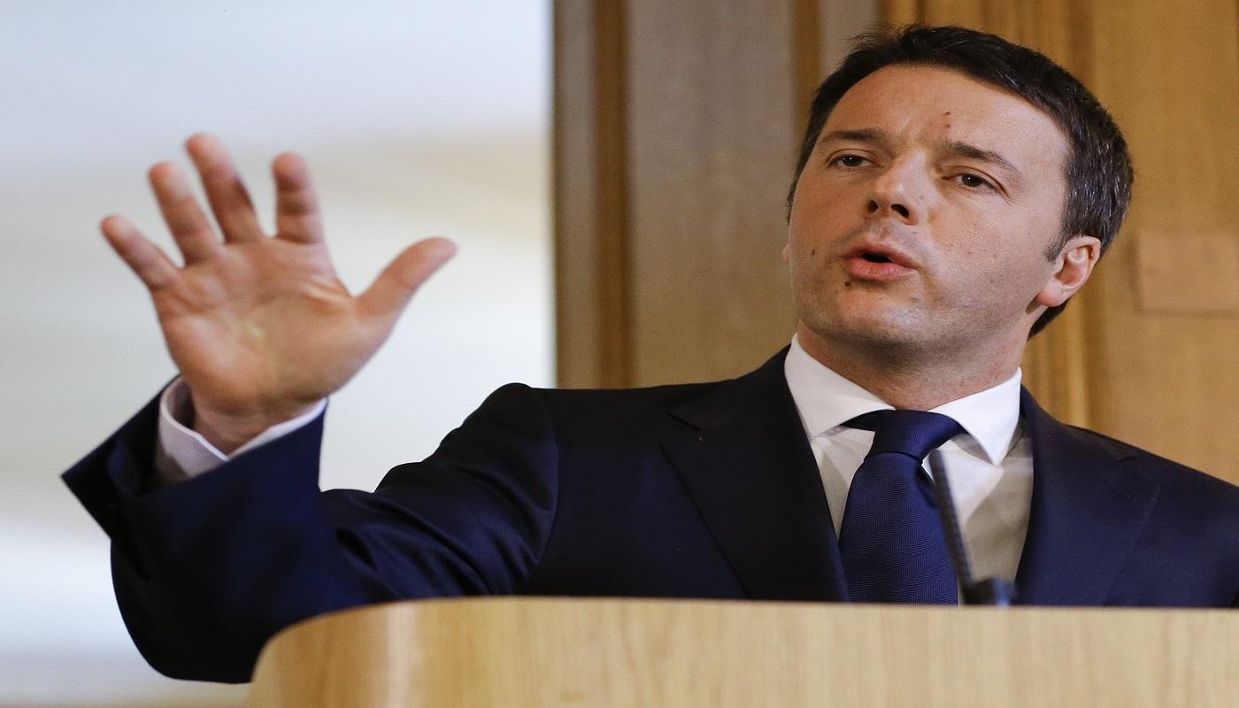 """Renzi: """"Concorsi per 10mila posti. Ma bisogna rottamare la filosofia 'checcozaloniana'"""""""
