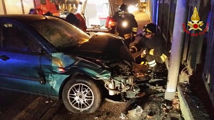 Incidente a Gemonio, due donne finiscono in Ospedale