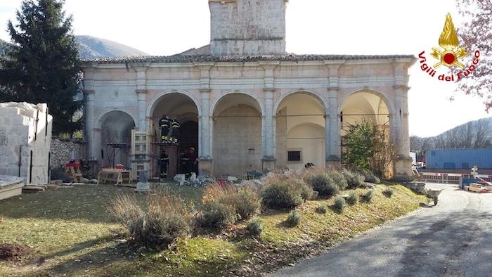 Le festività dei Vigili del Fuoco della provincia di Varese nelle zone terremotate