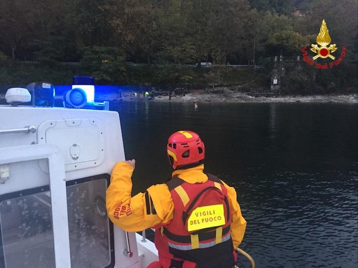 Castelveccana: sub muore nelle acque del lago