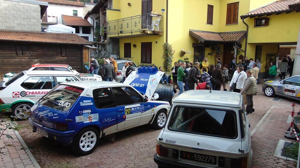 La Rievocazione Storica del Rally ACI Varese in bella mostra all'Ottobre Caldanese