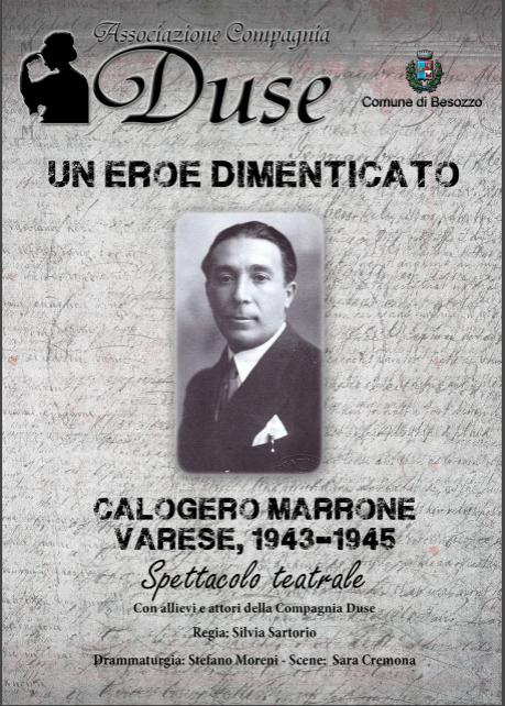 """Giornata della Memoria: da Varese a Besozzo in scena """"Un Eroe Dimenticato"""""""